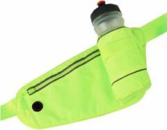 LB-441 Heuptas sport rennen waterproof smartphone riem fleshouder Heup band - Hardloopband Telefoon - Sportband - Hardloop Riem - Groen