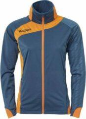 Kempa Peak Multi Jacket Dames Petrol-Oranje Maat M