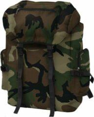 SJ interiors Backpack Rugzak Camouflage 65L - Militaire leger tas - Plunjezak - Sporttas - Plunje rugzak