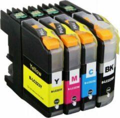Inkmaster Uismerk inkt cartridge compatibel voor Brother LC223 XL Multipack 4 kleuren (bk 20 ml ) kleur (12ml) DCP-J4120DW MFC-J4420DW MFC-J4425DW MFC-J4620DW MFC-J4625DW MFC-J5320DW MFC-J5620DW MFC-J5625DW MFC-J5720DW LC-223 Multipack BK, M, C ,Y