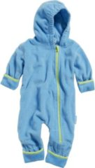 Playshoes - Kid's Fleece-Overall - Overall maat 74, turkoois/blauw