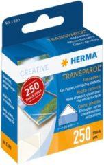 HERMA Transparol fotohoekjes dispenser 250 st. (1380)