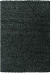 Antraciet-grijze Impression Himalaya Shaggy Hoogpolig Deluxe Vloerkleed Antraciet - 160x230 CM