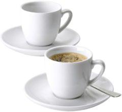 6er Set Espressotassen Esmeyer weiß