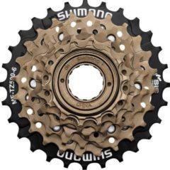 SHIMANO EMFTZ5006428 Freilauf-Schraubzahnkranz Shim. MF-TZ500 6-fach 14-16-18-21-24-28 Zähne (1 Stück)