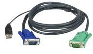 ATEN Technology ATEN Micro-Lite 2L-5203U - Tastatur- / Video- / Maus- (KVM-) Kabel 2L-5203U