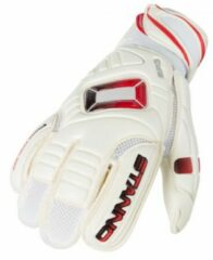 Rode Stanno Ultimate Grip Keepershandschoenen Kinderen - White-Red