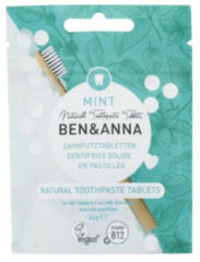 Ben&Anna Tandpasta Tabletten Naturel 100 tabletten