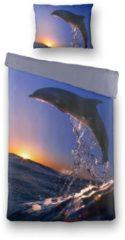 Bettwäsche Delphin Traumschlaf blau