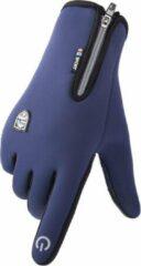 Topco Waterdichte Handschoenen met Antislip en Touchscreen - Blauw L