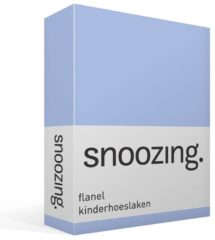 Moment By Moment Snoozing flanel kinder hoeslaken Hemel Wiegje (40x80 cm) (250 hemel)