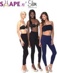Zwarte Shape and Slim Shape 'n Slim - Afslanklegging - Legging - 3 stuks - Maat XXL/XXXL