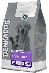 Denkadog Senior Croc Rund&Vis&Kip - Hondenvoer - 2.5 kg - Hondenvoer