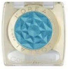 Turquoise L'Oréal Paris L'Oréal Color Appeal Oogschaduw - 106 Xenon Blue