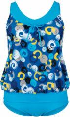 Tankini Maritim Turquoise::Royal blue