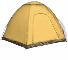 VidaXL Tent 6 personen geel