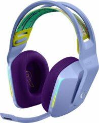 Paarse Logitech G733 LIGHTSPEED Lichtgewicht Draadloze Gaming Headset met DTS Headphone:X 2.0 Surround - Lila