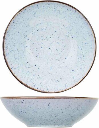Afbeelding van Blauwe Cosy&Trendy Tessa Blue diepbord - Ø 18 x H 5,5 m - Set-6