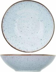 Blauwe Cosy&Trendy Tessa Blue diepbord - Ø 18 x H 5,5 m - Set-6