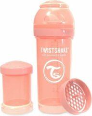 Roze Twistshake Babyfles Antikoliek 260Ml - Pastel Peach