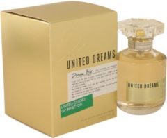 Benetton United Dreams Dream Big Woman Eau De Toilette Spray 80ml Special Edition