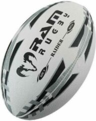 RAM Rugtby Raider Match rugbybal - Wedstrijdbal - 3D grip - Maat 4 - Geel
