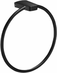 Sapho Zen Black zwarte handdoek ring 21cm