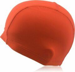 #DoYourSwimming - Badmuts voor volwassenen - »Guppy« - kwaliteitsstof - perfecte pasvorm en extra oorbescherming - oranje