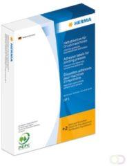 Etiketten Herma 2961 voor drukmachines DP1 34x67 mm geel papier mat 1000 st.