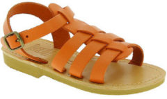 Oranje Sandalen Attica Sandals PERSEPHONE CALF ORANGE
