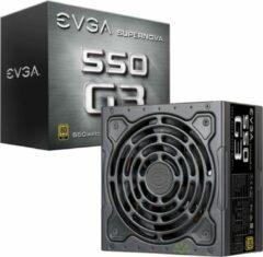 Gouden EVGA SuperNOVA 550 G3 power supply unit 550 W Zwart