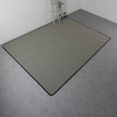 Witte Webkarpet Vloerkleed Boston (wol) Stripe Zebra | 200 x 300 cm