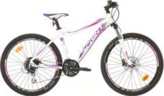 26 Zoll Damen Mountainbike 24 Gang Sprint... weiß-violett, 44cm