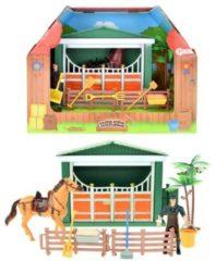 Huismerk Toi Toys Paardenstal Met Verzorger - 10 Delig