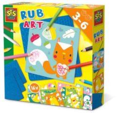 Ses Kleurplaten Rub Art Junior Papier 27-delig
