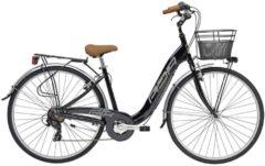 26 Zoll Damen City Fahrrad 6 Gang Adriatica Relax Adriatica schwarz