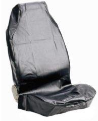 Merkloos / Sans marque 074010 Autostoelhoes 1 Stuks Kunstleer Zwart Bestuurder