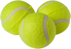 Adori Tennisballen - Hondenspeelgoed - Geel 3 stuks