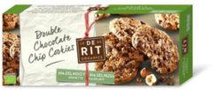 De Rit Double chococookies hazelnoot 175 Gram