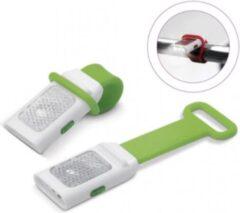 LT Fietslamp fold-on groen 12 cm