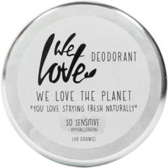 We Love The planet deodorant 100% natural so sensitive