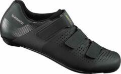 Gele Shimano RC1 Race Fietsschoenen Zwart Maat 46