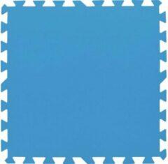 Pool Improve Zwembadtegels Blauw 50x50 CM 8 Stuks - Grondzeil Zwembad – Ondertegels Zwembad - 2m²