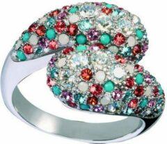 Zilveren Ring Dames Glamour GR33-24 (19 mm)