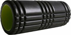 Antraciet-grijze Sportbay fitness foam roller PRO (33 cm)