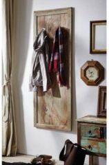 Garderobe NATURE GREY Massivmoebel24 grau