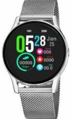 Lotus 5000/1 Smartime Smartwatch - polshorloge - staal/kunststof - zilverkleurig - mm