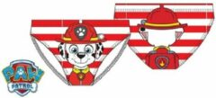 Rode Paw Patrol zwembroek - maat 116 - Marshall zwembroekje