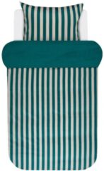 Satin Bettwäsche 'Classic Stripe' Marc O'Polo Pine Green