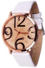 Roze Geneva Dames horloge Wecin Rose White